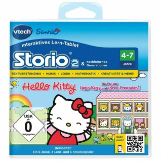 Vtech Game Hello Kitty Lern-Spiel für Storio 2 3 3S MAX etc Lern-Tablet Computer