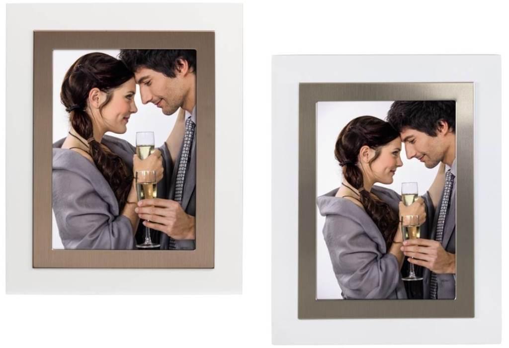 Hama Portrait-Rahmen Hochzeit Verlobung 10x15/13x18cm Bilderrahmen ...
