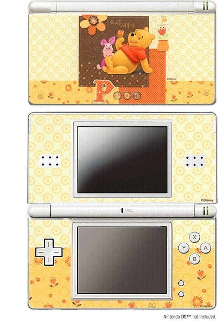 Schutz Folie Aufkleber Sticker Cover Winnie Pooh Ferkel Für Nintendo Ds Lite