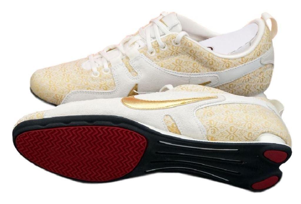 huge discount cd988 df52d free shipping nike shox frenzi sneaker damen gr.40 5 42 gold leder schuhe  wmns