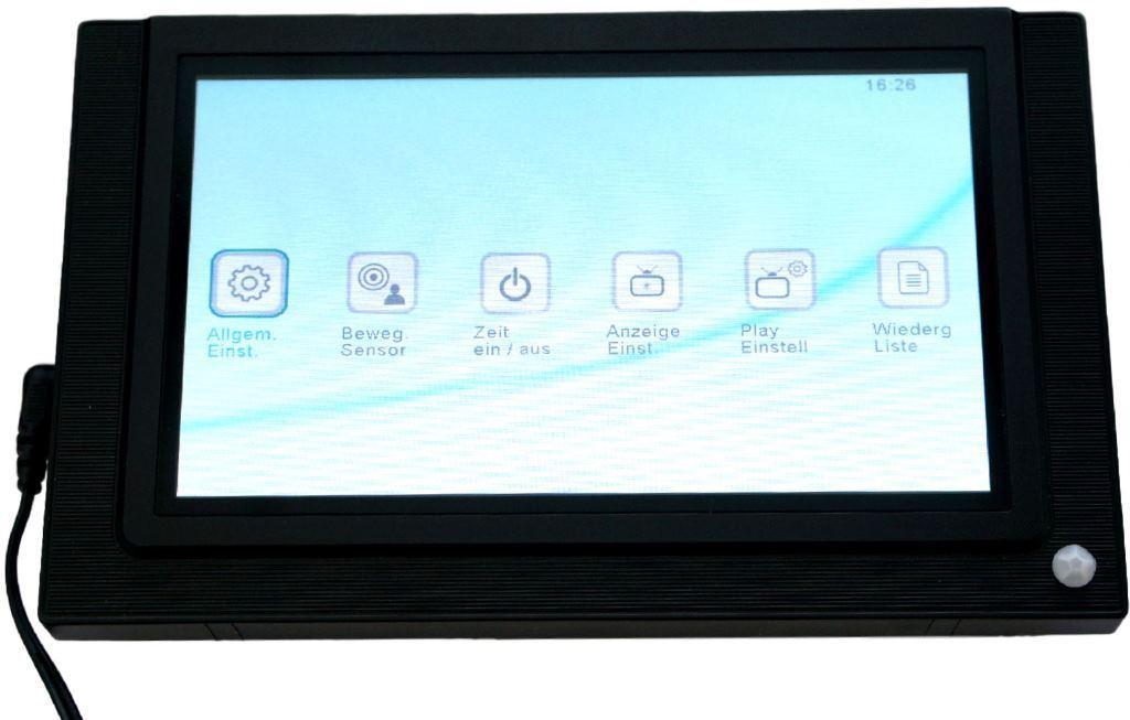 P-3 Foto Video Präsentations-Bildschirm Werbe-Display Digitaler ...