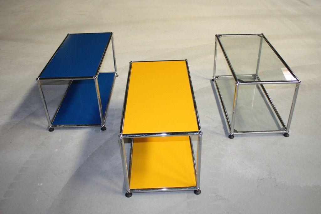 usm haller sideboard fach regal tisch blau und wahlweise andere farben kaufen bei koka. Black Bedroom Furniture Sets. Home Design Ideas