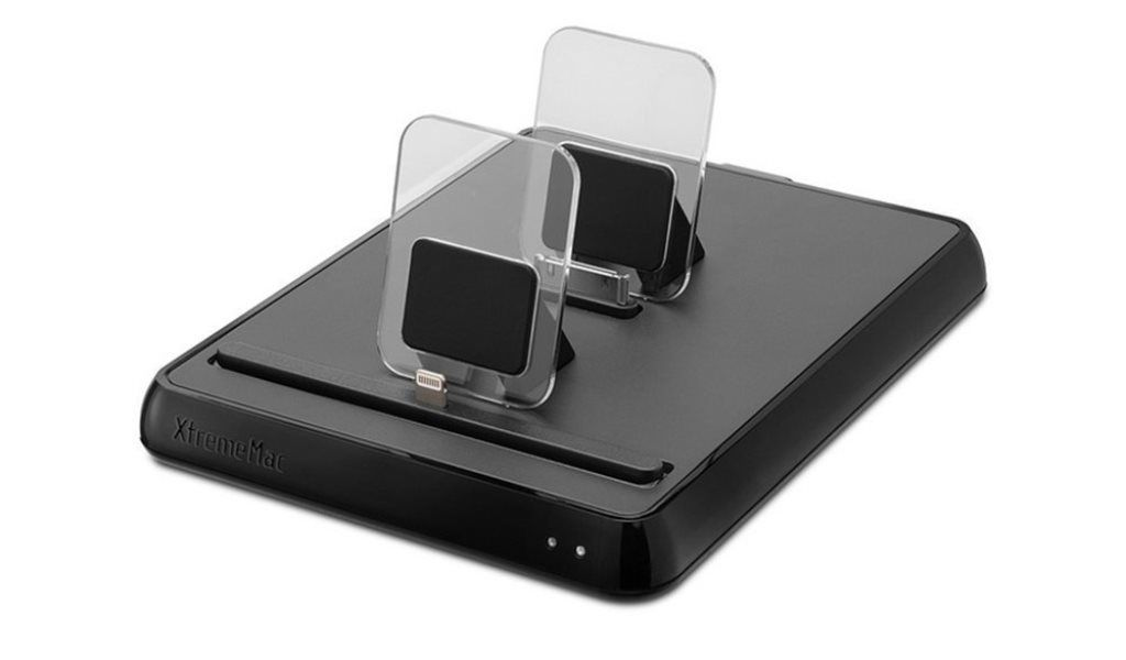 xtrememac usb docking station ladestation st nder dock f r apple iphone ipad kaufen bei koka. Black Bedroom Furniture Sets. Home Design Ideas