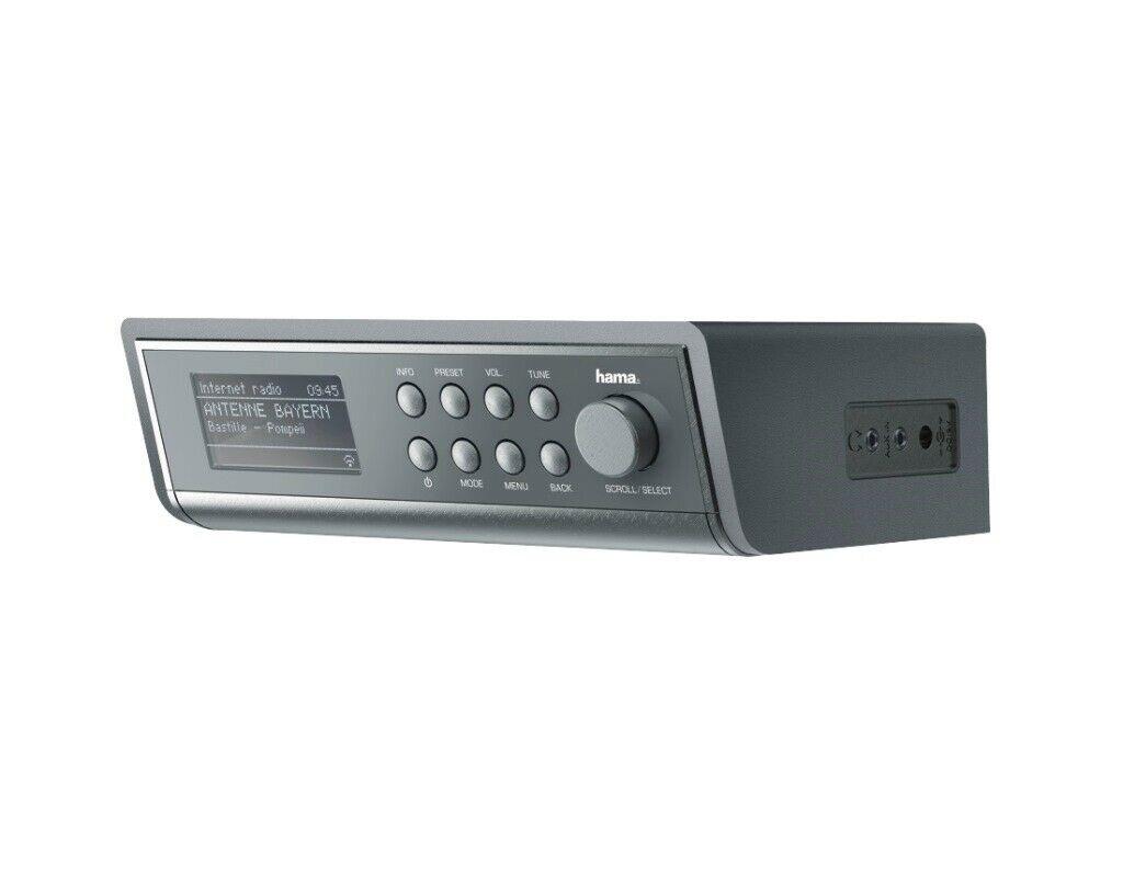 Hama Internetradio IR20 WIFI WLAN Streaming auch Unterbau-Radio  Küchen-Radio