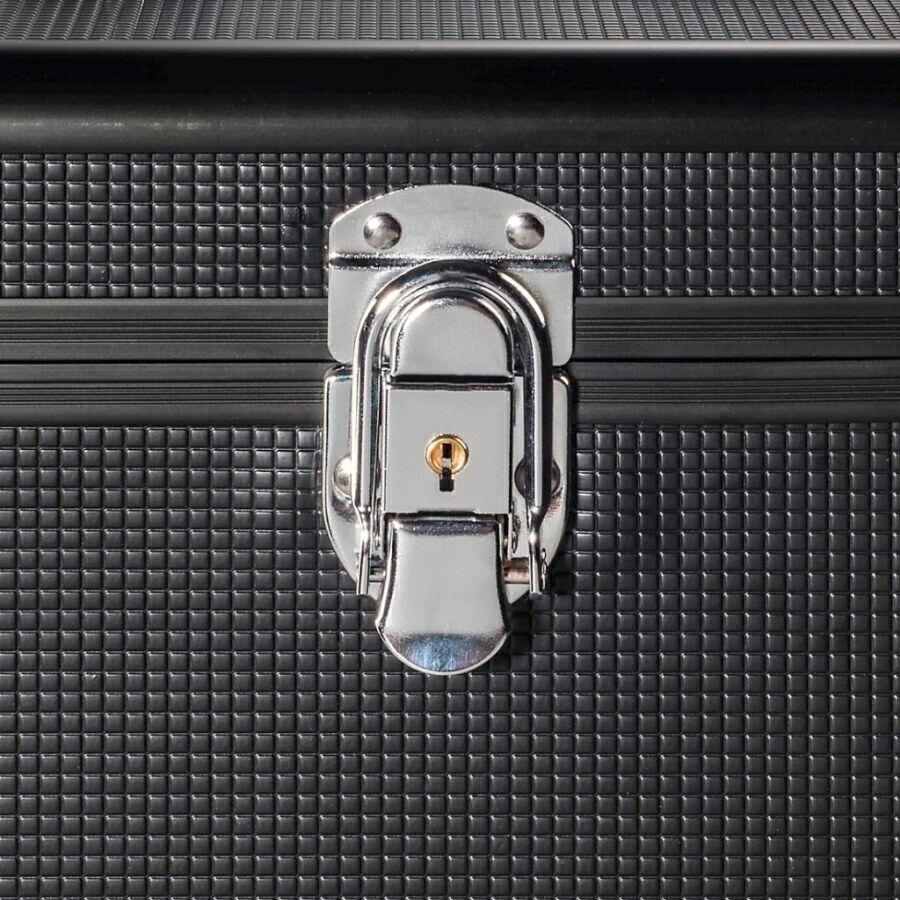 Cases, Racks & Taschen Hama Lp-koffer Tasche Hülle Pa Dj Platten-case Box 50x Schall-platte Maxi Vinyl Zubehör & Aufbewahrung