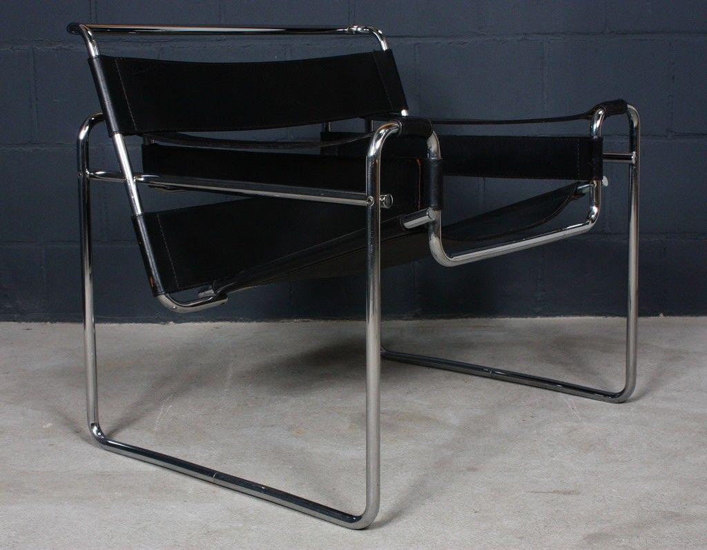 Marcel Breuer Sessel knoll international marcel breuer b3 sessel wassily chair