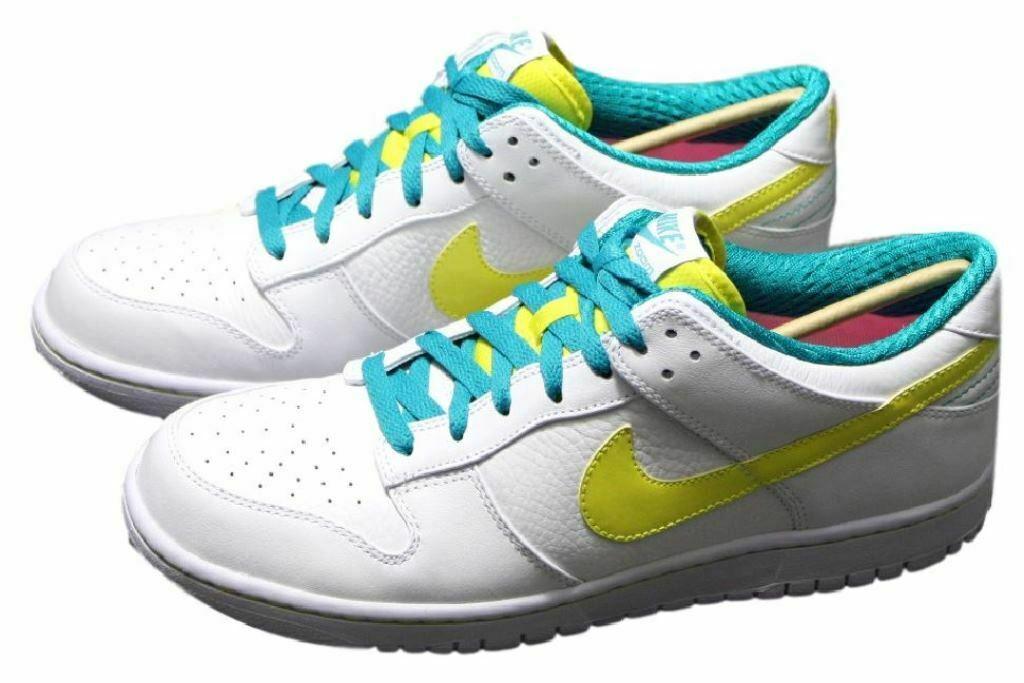 new styles a46c8 36dcf Nike Dunk Low Premium Gr EUR 44 + 45 Leder Sneaker Schuhe weiß Zoom Force  318764