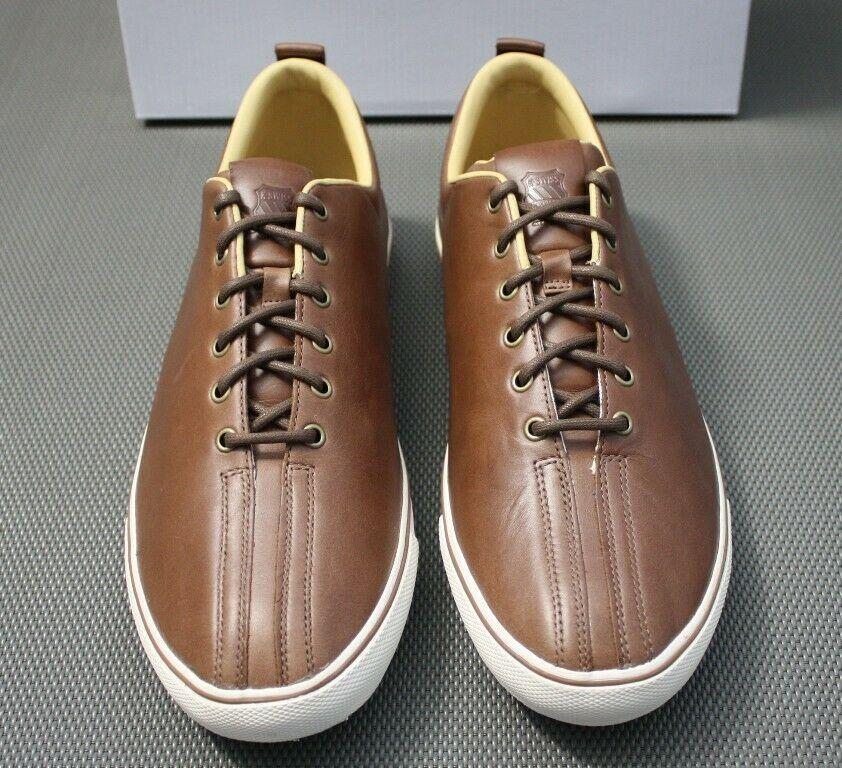 755448c18af71d ... K-SWISS Clean Malibu VNZ Leder Sneaker braun Gr. EUR 39 - 45 Schuhe ...
