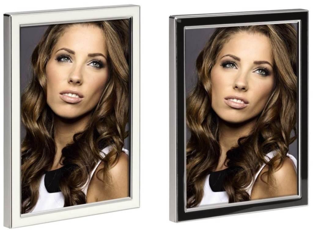 Hama Portraitrahmen Metall 10x15 13x18 Portrait Foto-Rahmen ...