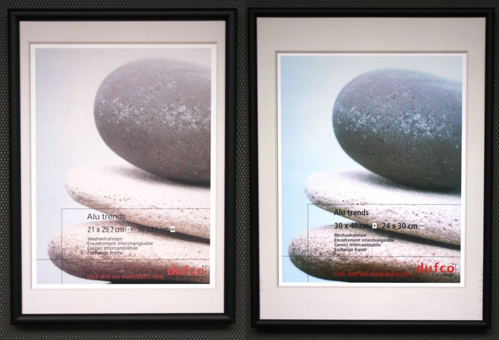 Alu-Rahmen Bilder-Rahmen schw. 20x30 30x40 40x50 50x70 60x80 Poster ...
