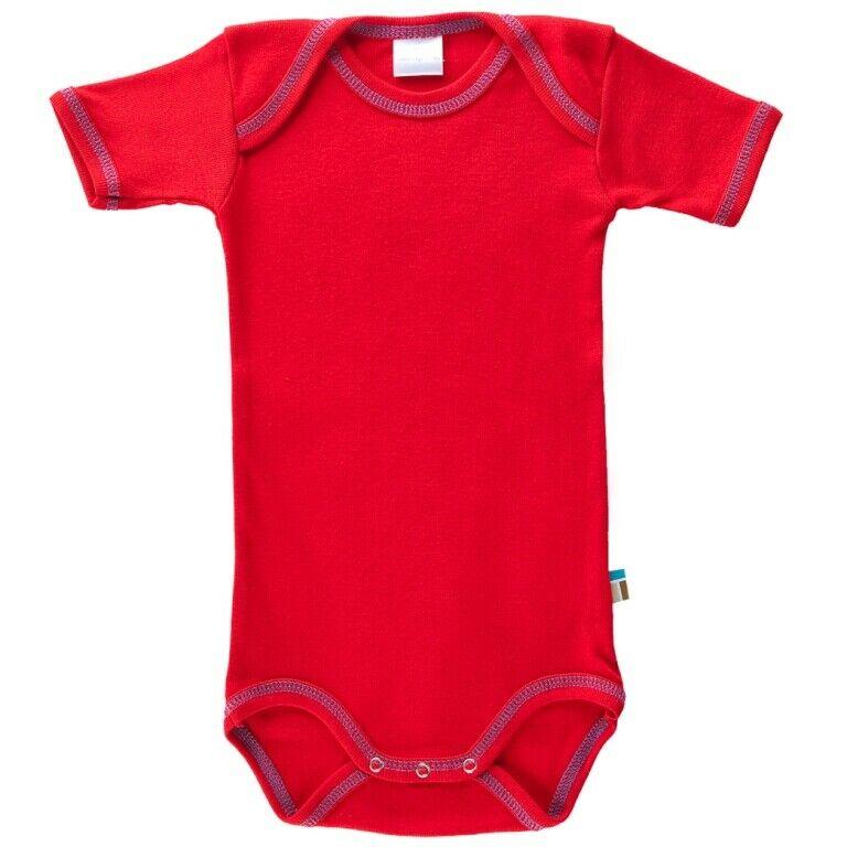 sports shoes 38f83 e164a Tragwerk Body Eva kurzarm Kirsche 56-74 Baby Junge Mädchen Pullover Pulli  Shirt