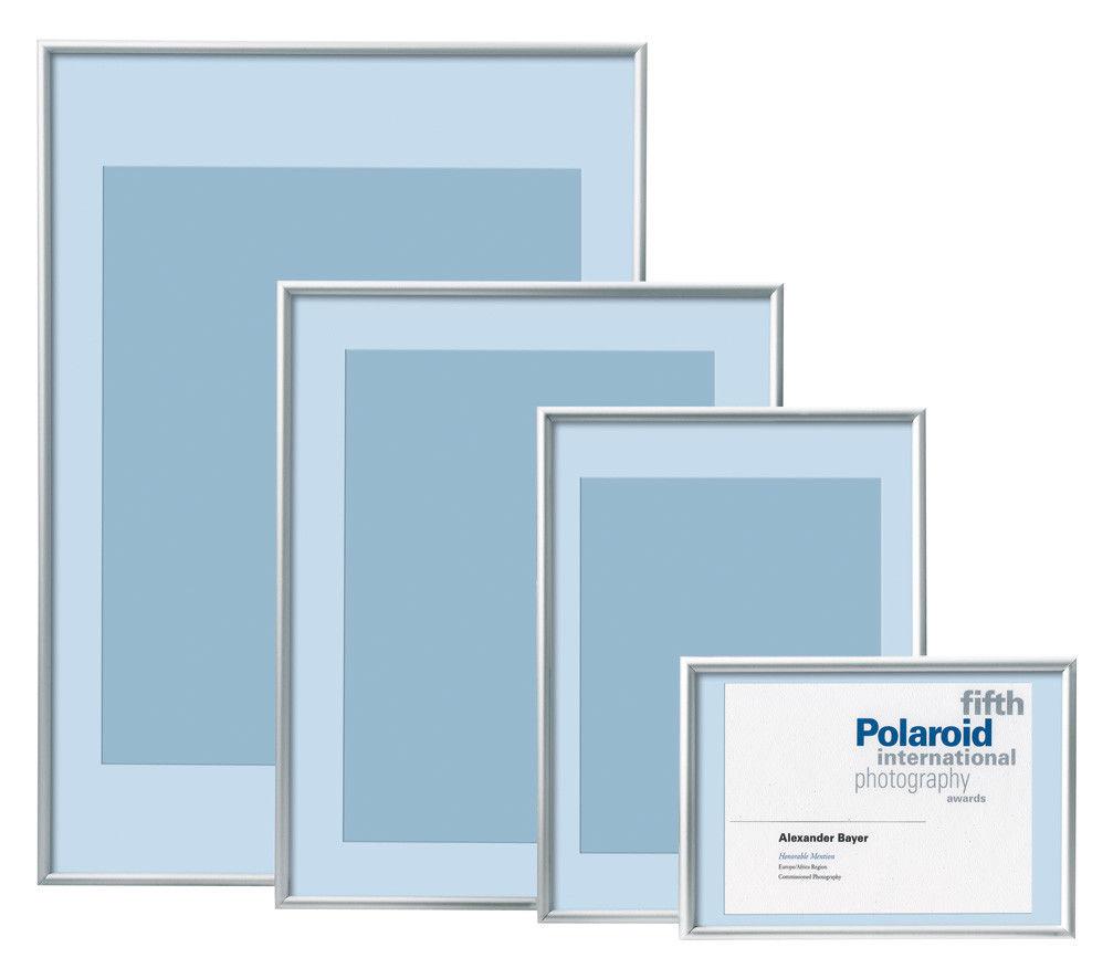 Alu-Rahmen Bilder-Rahmen Silber 20x30 30x40 40x50 50x70 60x80 Poster ...