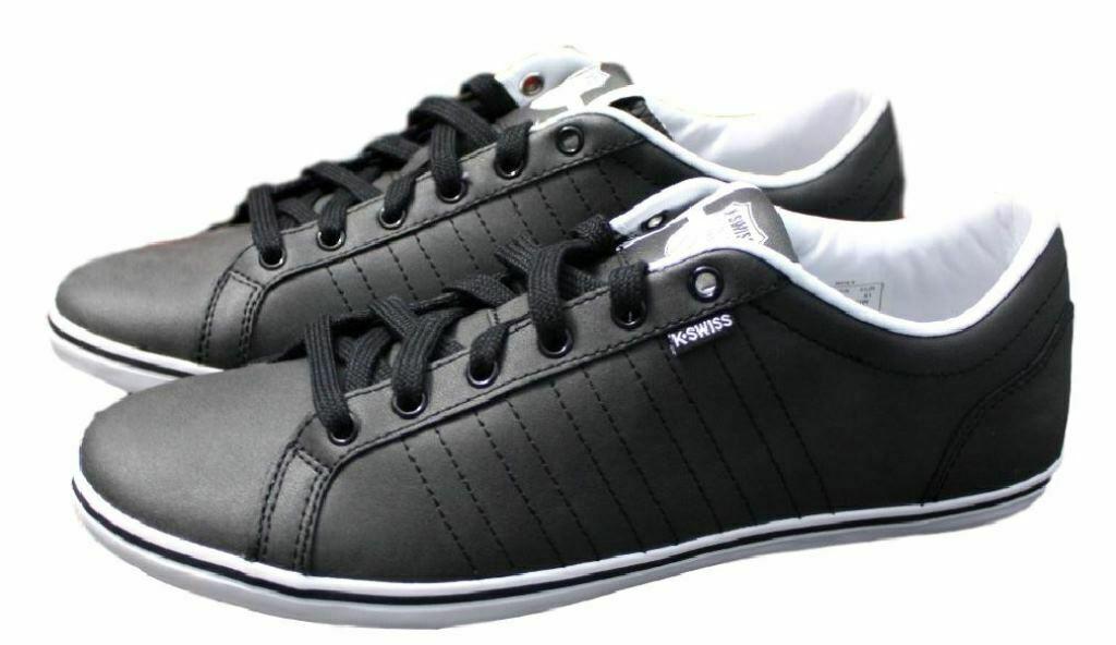 Swiss 40 Iii Sneaker Low Hof Leder K Kswiss Vnz GrEur Schwarz 41 Schuhe f6Y7bgy