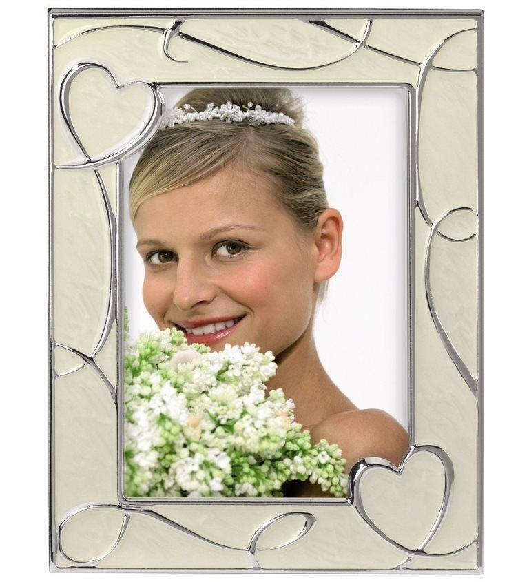 Hama Portrait-Rahmen 10x15cm 13x18cm Hochzeit Verlobung Herz ...