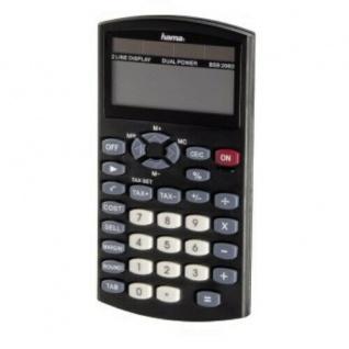Hama Solar Taschenrechner Bureau BSB 208D Tisch Rechner Schule Büro Schulrechner