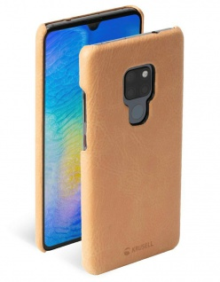 Krusell Cover Leder Hard-Case Schale Schutz-Hülle Tasche Etui für Huawei Mate 20