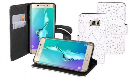 Patona Slim Book-style Klapp-Etui Schutz-Hülle für Samsung Galaxy S6 Edge+ Plus