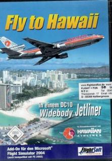 Fly to Hawaii in einem DC10 Widebody Jetliner Flug-Simulator Flugzeug Flughäfen