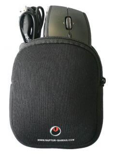 Raptor Mouse Bag Maus Tasche Case Hülle für Raptor Razer Logitech etc Gaming Lan