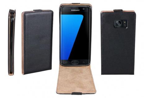 Patona Slim Flip Klapp-Tasche Schutz-Hülle Case Cover für Samsung Galaxy S7 Edge