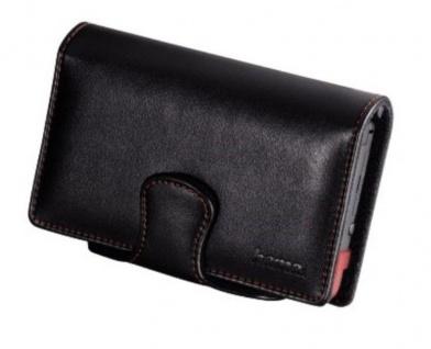 Hama Leder-Tasche Case Hülle Etui schwarz für Nintendo DSi NDSi DS Lite Konsole