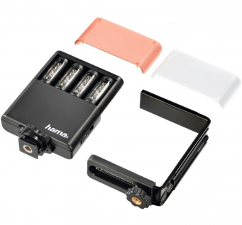 Hama LED Panel Flächen-Lampe Video-Leuchte Foto-Licht Blitzschuh Kamera-Licht