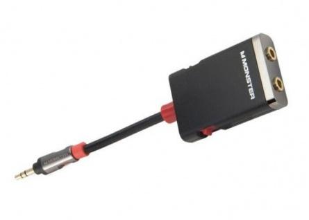 Monster Splitter Klinken-Kabel Klinken-Adapter 3, 5mm Stecker > 2x Buchse Y-Kabel - Vorschau 1