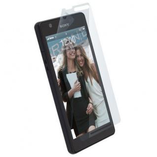 Krusell edel Display Schutz Folie Schutzfolie für Sony XPERIA ZR M36h Protector