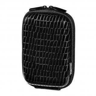 Hama Kamera-Tasche Hardcase Croco 60H SW Hülle Case Etui für Digital-Kamera Foto