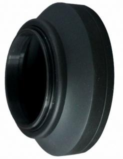 Gummi Gegenlichtblende 49mm faltbar Sonnen-Blende für DSLR DSLM Kamera Objektiv