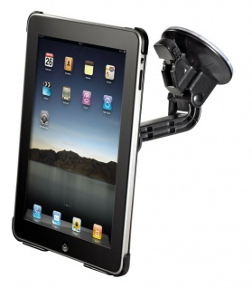 Hama Kfz Saugnapf-Halterung Auto-Halter mit Cover LKW PKW für Apple iPad 1 1G
