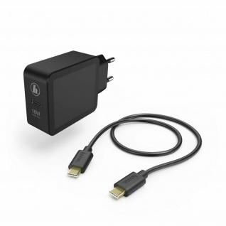 Hama Ladeset USB-C Quick Charge Ladekabel 1, 5m Netzteil