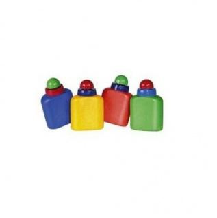 Hama Trinkflasche Charly 0, 5l Grün unzerbrechlich Flasche Trinkbox 1/2 Liter