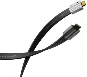 Gioteck HQ HDMI-Kabel Metall-Stecker 4K UHD 3D 1080p für TV PS4 PS3 Xbox One 360