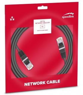 Speedlink 10m Netzwerk-Kabel Cat 5e STP RJ45 Gigabit Patchkabel LAN DSL Ethernet