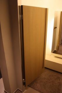 Tür Umkleidekabine Edelstahl bambus Kabine Design Schwenktür Ladeneinrichtung