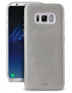 Puro Shine Glitzer Cover Schutz-Hülle Hard-Case Tasche für Samsung Galaxy S8
