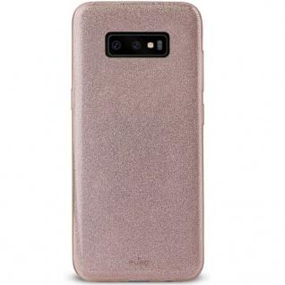 Puro Shine Glitzer Cover Schutz-Hülle Case Tasche für Samsung Galaxy S10