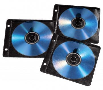 Hama 50x Ringbuch-Hüllen Schutz-Hüllen CD-Hüllen Sleeves DVD Blu-Ray CD-Tasche