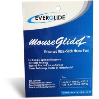 Everglide Mouseglidez Mausfüße Gleiter für Logitech MX300 G1 MX 300 Skatez Glide