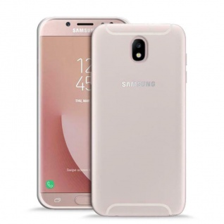 Puro Ultra Slim 0.3 Nude Cover TPU Case Schutz-Hülle für Samsung Galaxy J7 2017