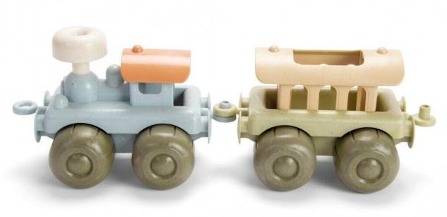 Dantoy Bio Zug Kinder-Spielzeug aus Bio-Kunststoff umweltfreundliches Geschenk