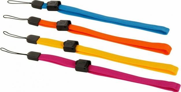 4x Hand-Schlaufen Strap Arm Band Schlaufe für Handy MP3-Player Kamera Foto Navi
