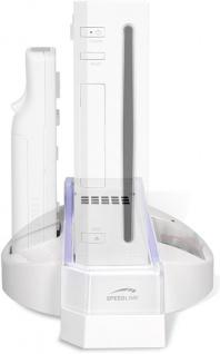 SL Ständer Stand Lade-Station für Nintendo Wii Konsole Wiimote Controller Akku