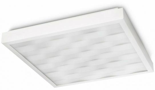 Philips InStyle Waves Decken-Leuchte Weiß 60 Watt Decken-Lampe CFL Energiespar