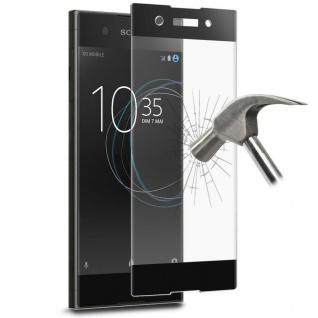 Puro Glas-Schutz-Folie 9H Hart-Glas Display-Folie für Sony Xperia XA1 Premium