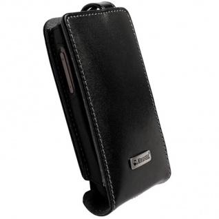 Krusell Orbit Flex Case + Clip Leder-Tasche für HTC Desire Etui Flap Bag Hülle