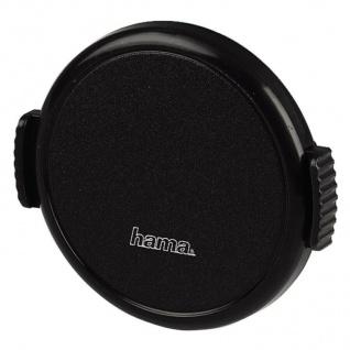 Hama Objektivdeckel Snap 55mm Aufsteck-Fassung schwarz Deckel für Objektiv DSLR