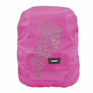 Step-by-Step Regen- und Sicherheitshülle Medium Pink Schul-Ranzen Ruchsack-Hülle