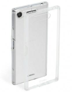 Krusell Cover Klar Hard-Case Schale Schutz-Hülle Tasche für Sony Xperia XZ1